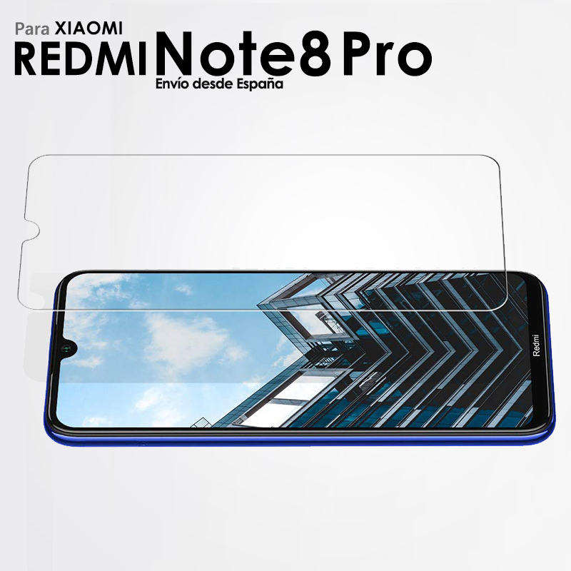 Full Tempered Glass Screen Protector for Xiaomi Redmi Note 8 Pro Security Glass Protection for Smartphone 4