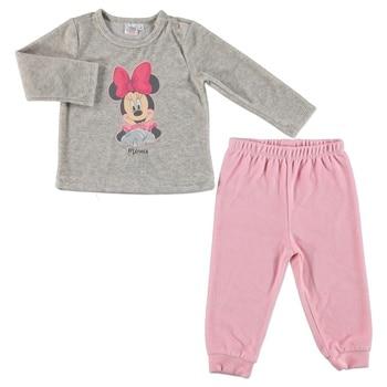 Ebebek Disney Minnie Mouse Licensed Velvet Tracksuit Set
