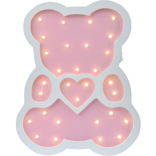 Фото - Wall light Night ray Teddy Bear with heart dvd blu ray