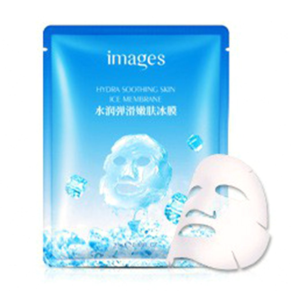 Moisturizing Mask Smooth And Tender Ice Film Soothing Skin Ice Membrane Face Mask Shrink Pores Facial Care