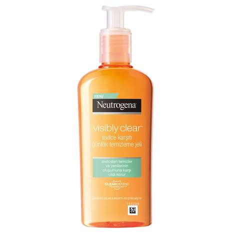 Neutrogena Visibly Clear Anti-Pimple Daily Cleansing Gel 200 Ml