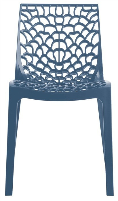 Chair WHIM, Polypropylene Blue Stewardess