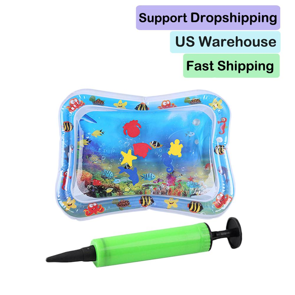 Summer Creative Baby Inflatable Patted Pad With Inflator Skillful Manufacture Superior Quality Infant Water Ice Mat Cushion Toys