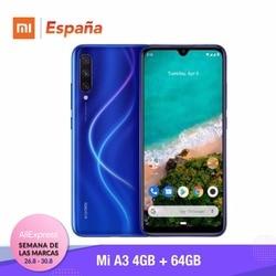 [Wersja globalna dla hiszpanii] Xiao mi mi A3 (pamięci wewnętrzne de 64 GB, pamięci RAM de 4 GB, potrójne kamera) Móvil 2
