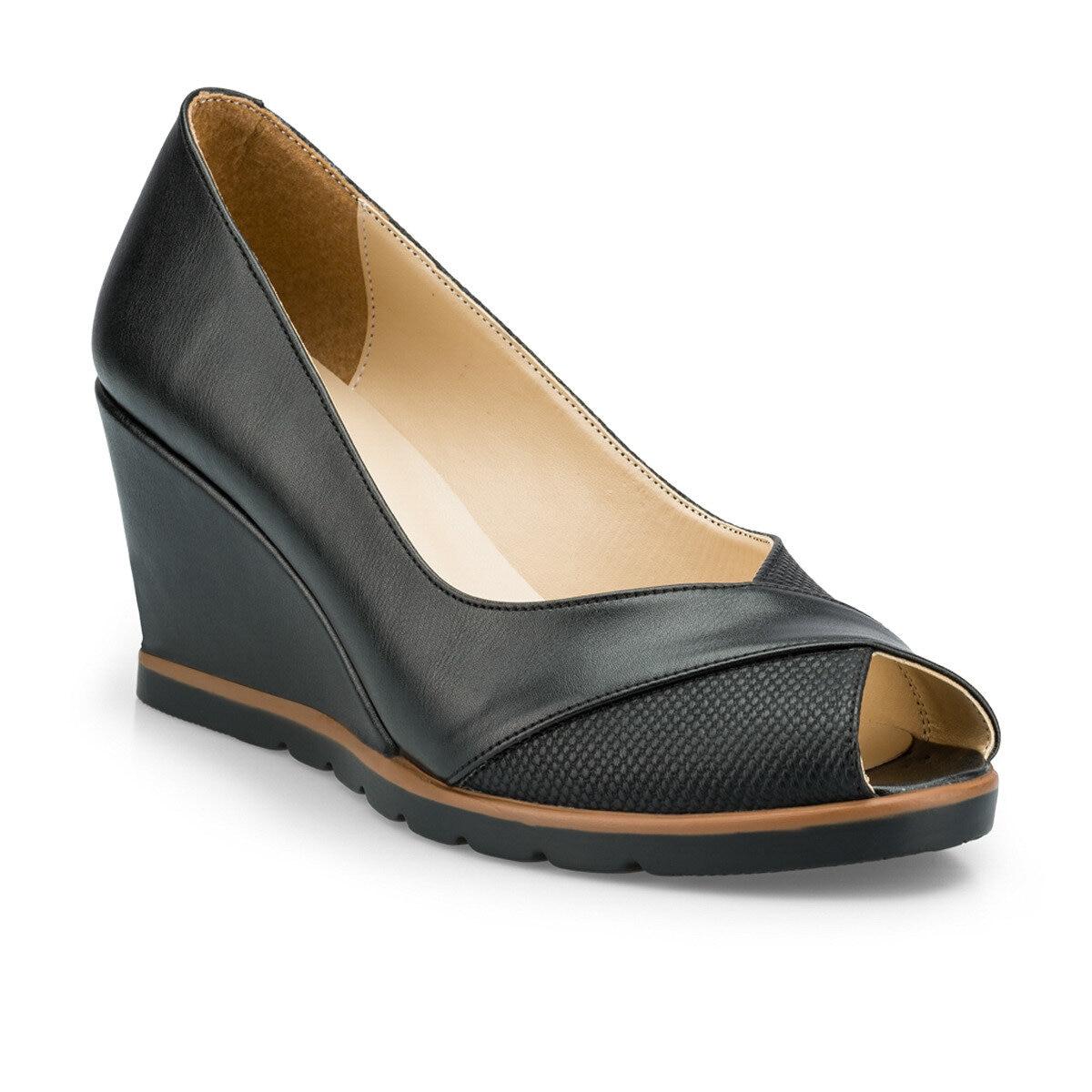 FLO 315147.Z Black Women Sandals Polaris