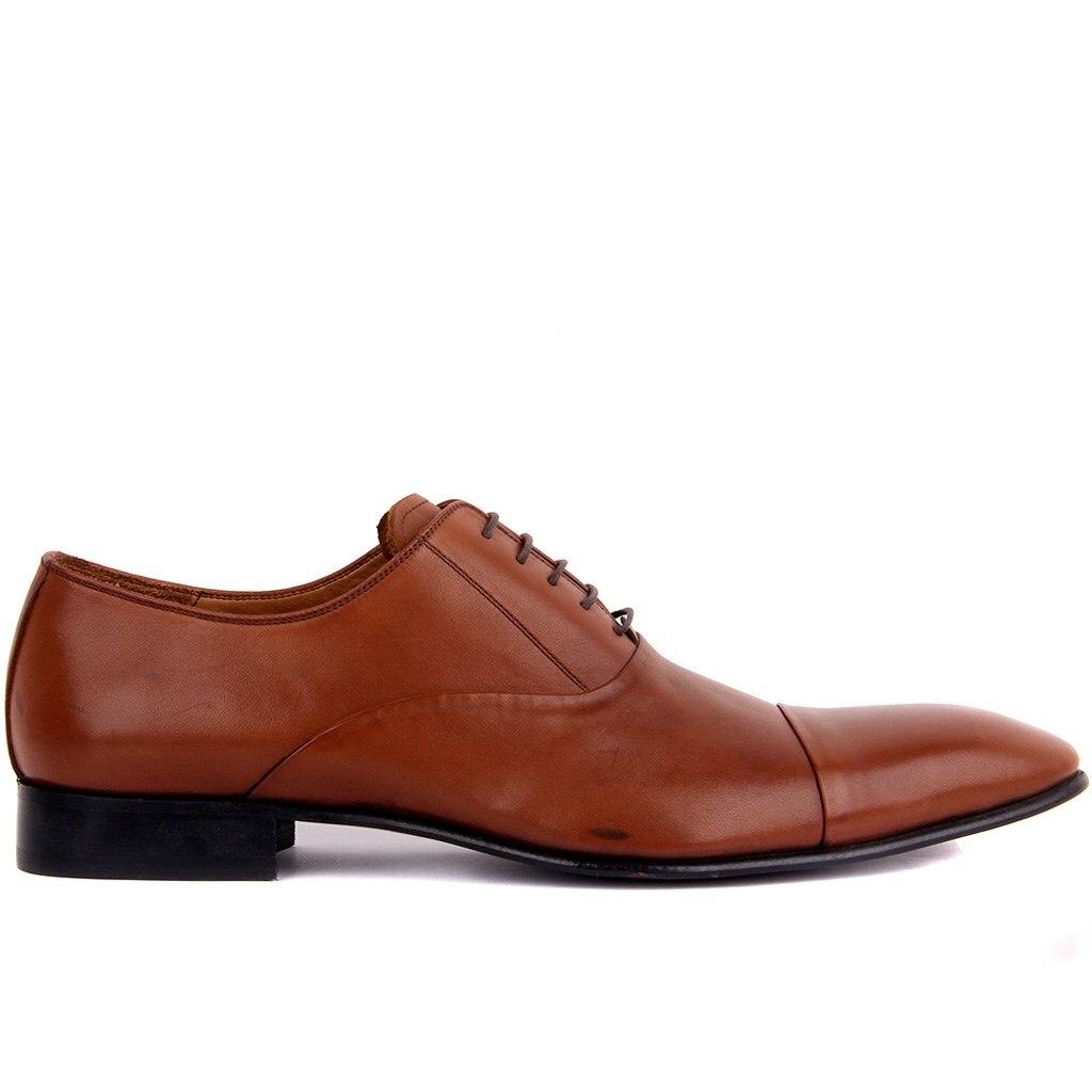 Sail Lakers-Tan Leather Men 'S Classic Shoes