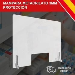 HORO. Es ist Screen de Schutz Plexiglas Transparante 3MM dicke mit Soporte