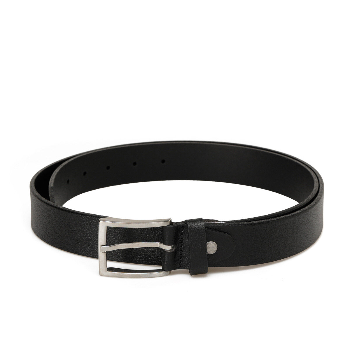 FLO 20M KLT LEATHER KMR Black Male Belt Garamond