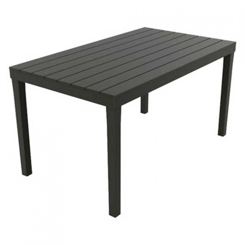 Resin table Sumatran Anthracite 138x78x72cm Landscraft.com|  - title=