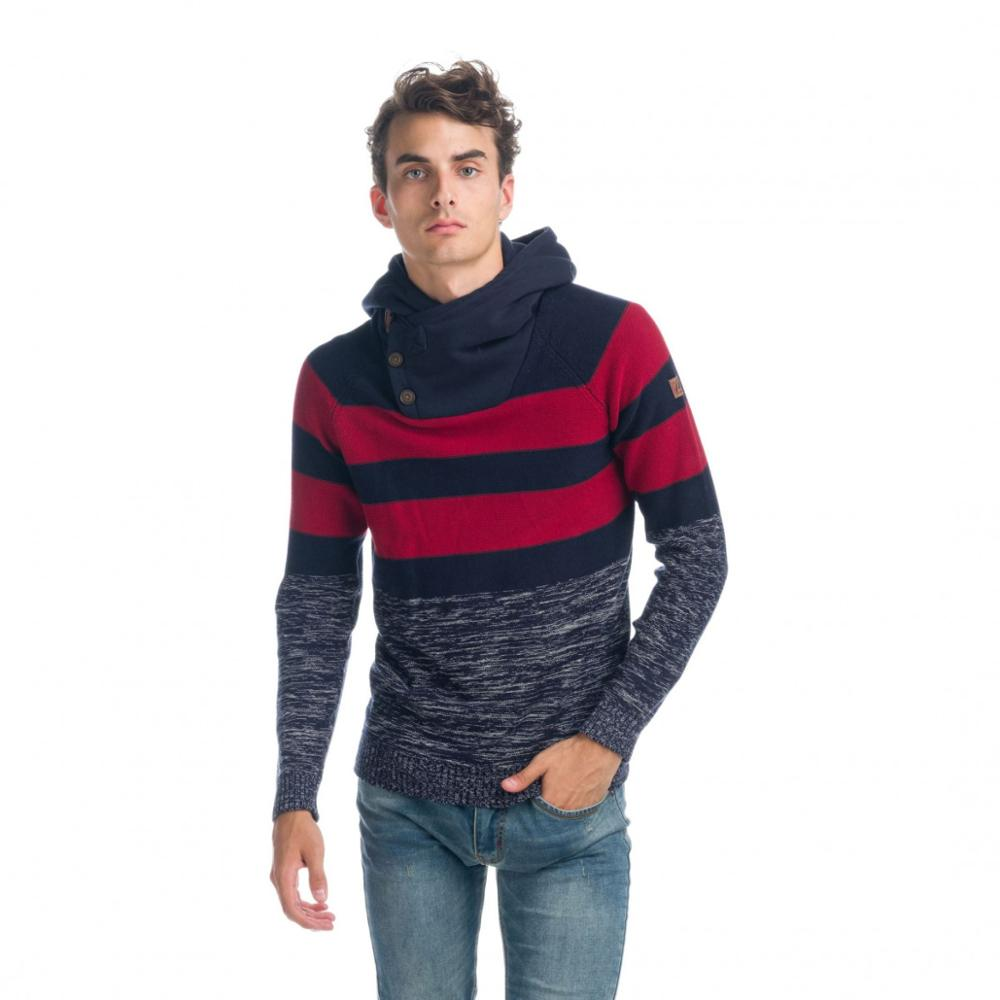 KOROSHI JERSEY KNIT HOODED PLUSH MAN