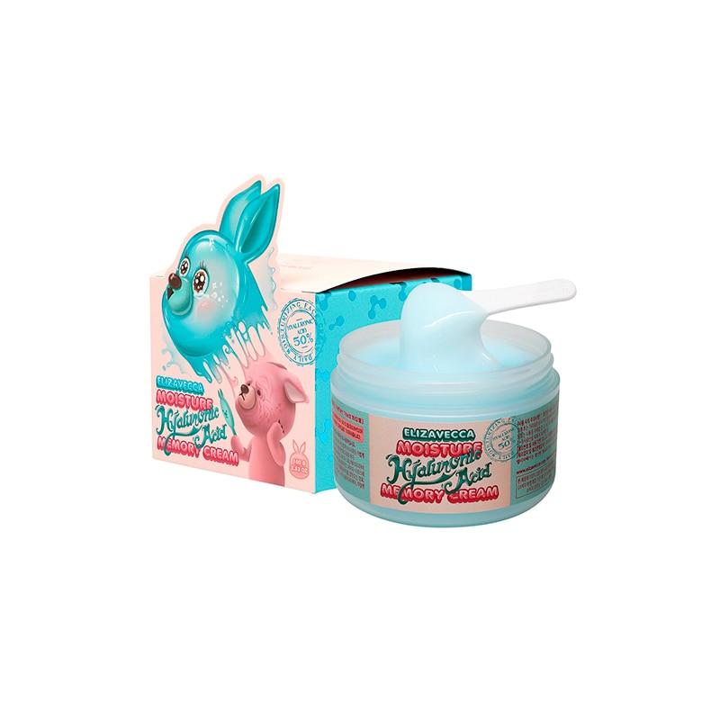 Elizavecca Moisture Hyaluronic Acid Memory Cream 100g Korean Cosmetic