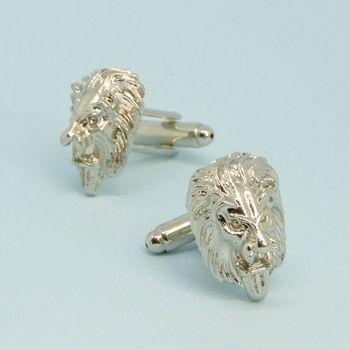 Запонки бижутерные Лев (53082)