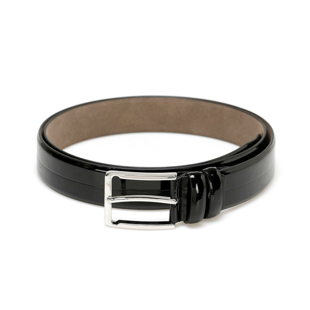 FLO MBR 3401 Black Male Belt Garamond