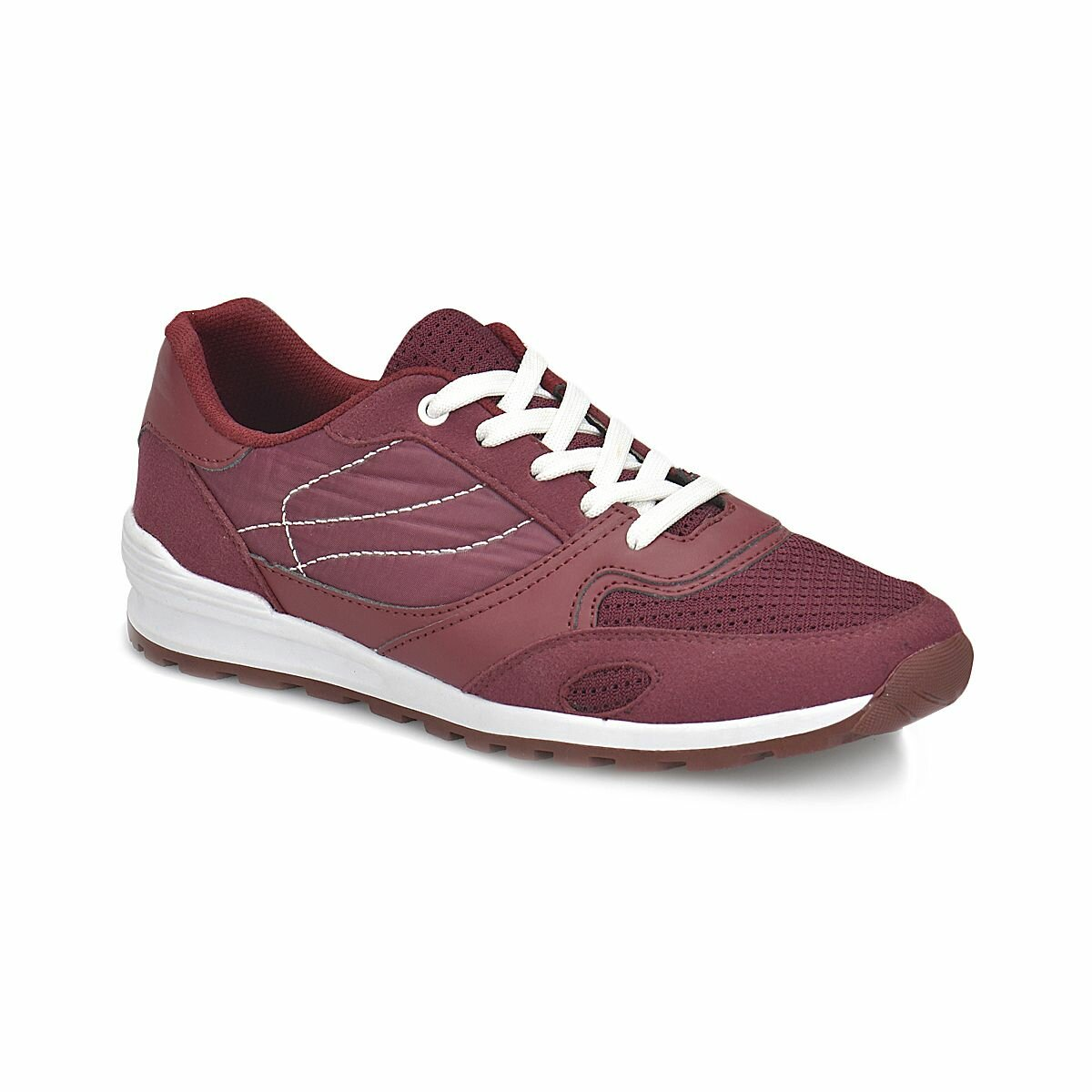 FLO PNM306.G Burgundy Male Child Sports Shoes Panama Club