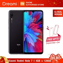Global Version Redmi Note 7 128GB ROM 4GB RAM (Brand New and Sealed Box), note7 128gb