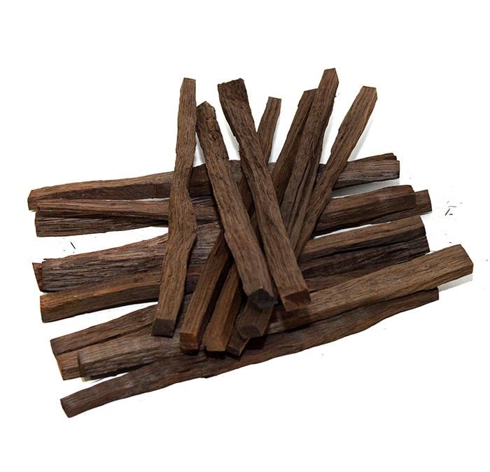 Bâtonnets de chêne 100 gramme pour les boissons alcoolisées maison whisky, cognac, mercerisation moonshine, amélioration du distillat