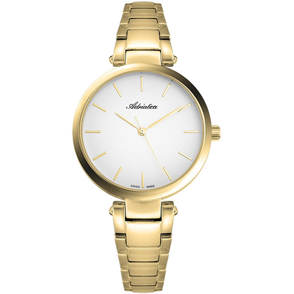 Women's Watch A3773.1113qs On A Steel Bracelet With PVD Coated Mineral Glass SUNLIGHT