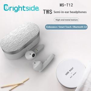 Image 2 - Brightside bluetooth fone de ouvido sem fio fones de ouvido bluetooth tws controle toque esporte ruído cancelar jogos