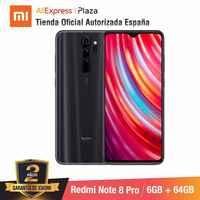 Redmi Note 8 Pro (64GB ROM con 6GB RAM ¡Cámara de 64 MP Android Nuevo... Móvil) [Teléfono Móvil Versión mundial para España.