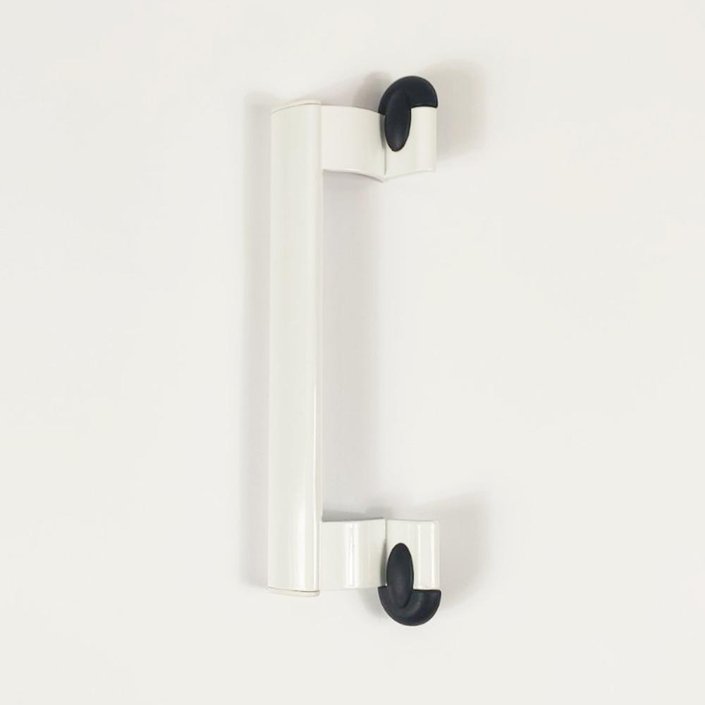 Door Handle Aluminum White. Length 23 Cm