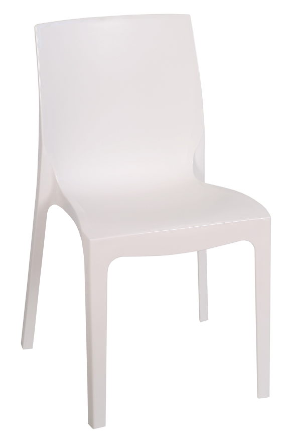 Chair EMY, Stackable, Polypropylene White *