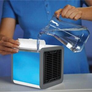 Мини кондиционер вентилятор увлажнитель очиститель воздуха Arctic Air, мобильный кондиционер, охлаждение Кондиционеры      АлиЭкспресс
