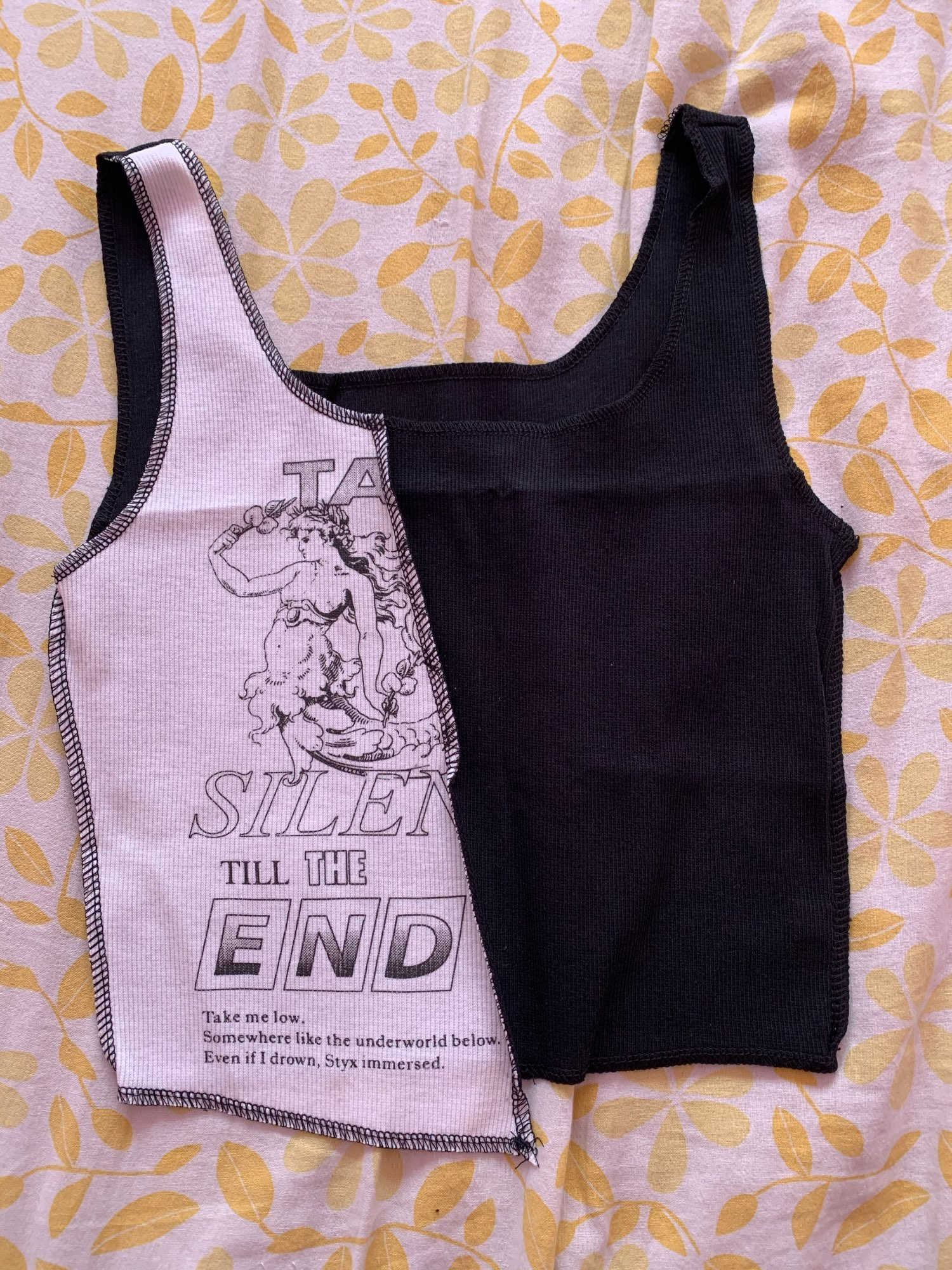 Tank Top with graphic print Egirl Punk photo review