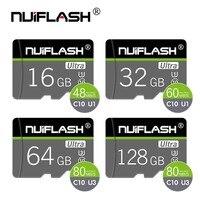 Tarjeta de memoria Micro SD de alta velocidad, 16gb, 32gb, Clase 10, 64GB, Flash, TF, C10, 128, 256 GB