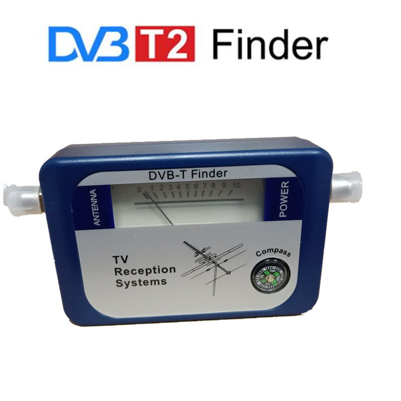 DVB-T TV Antenna Satfinder DVB T2 DVB-T2 Signal Finder Digital Aerial Terrestrial Signal Strength Meter Pointer Satellite Finder