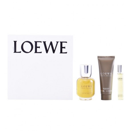 LOEWE POUR HOMME 100ML EDT + BALM SPRAY AFTER SHAVE 15ML + 15ML EDT SPRAY