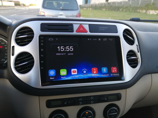 Radio Multimedia para Volkswagen Tiguan 1 NF (2007-2016)