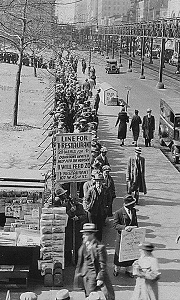 《大萧条》封面图片
