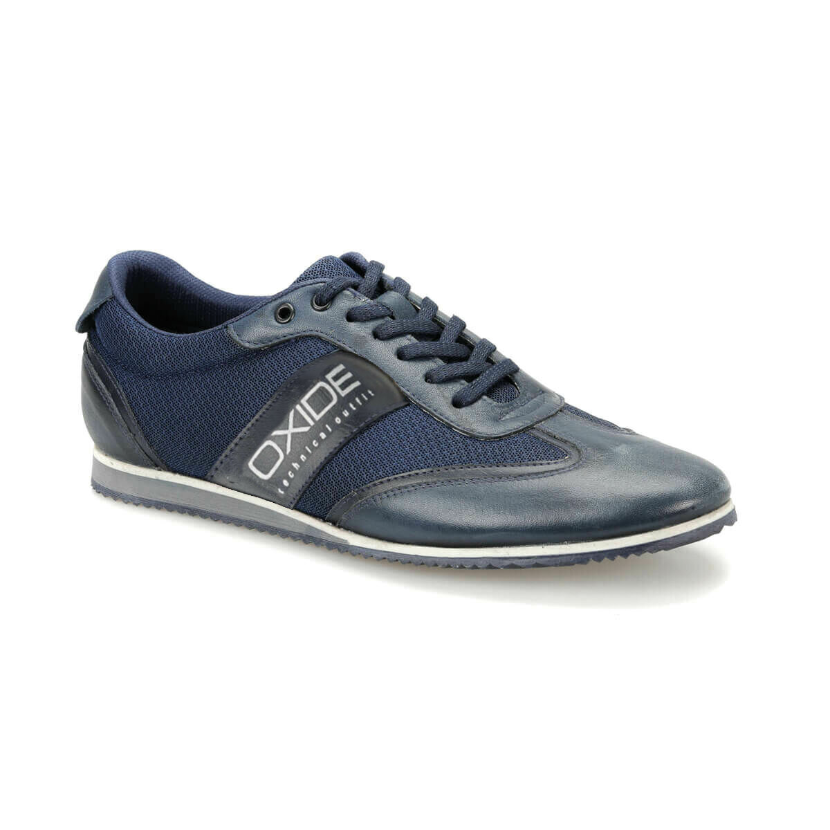 FLO VLK196 Navy Blue Men 'S Shoes Oxide