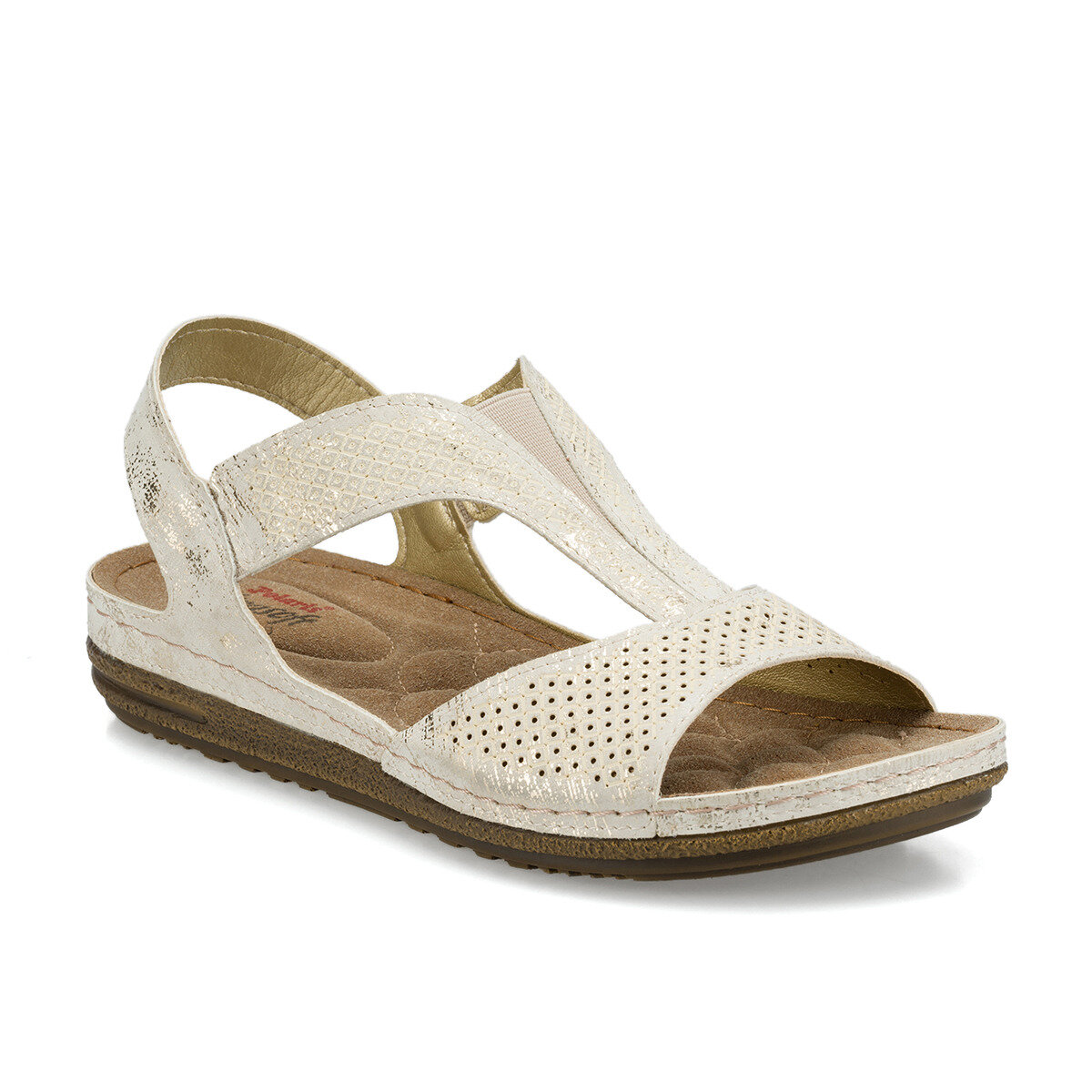 FLO 161163.Z Beige Women 'S Sandals Polaris