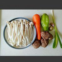 素炒白玉菇的做法图解1