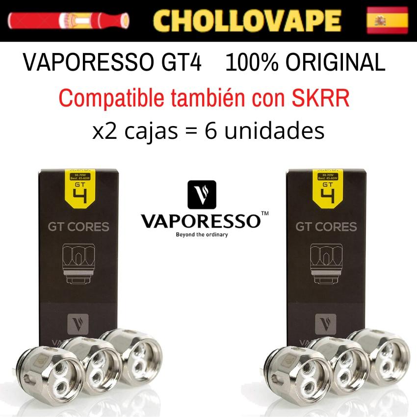 Resistors Vaporesso GT4 Or GT Mesh - Nrg Tank, Sky Single, Skrr...