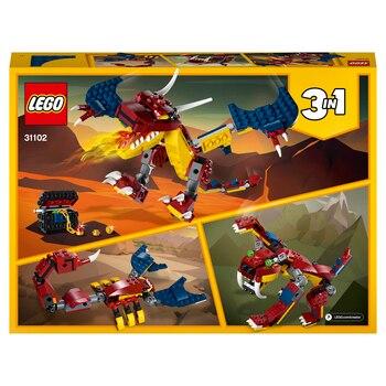 Конструктор LEGO Creator Огненный дракон 3