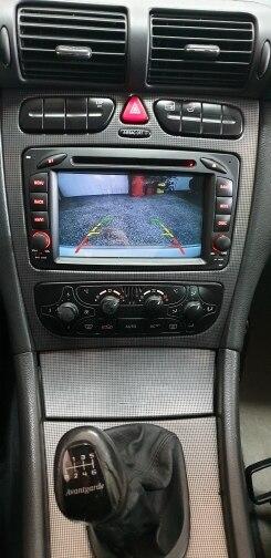 Android 10.0 Mercedes Benz clk w209 w463 w208 GPS DVD Camara Visão Traseira
