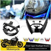 Front Headlight Headlamp Support Bracket Upper Fairing Cowling Stay Holder For 2014-2016 Yamaha MT09 FZ09 MT FZ 09 FZ-09 MT-09