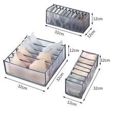 Mulher sutiã sexy beleza voltar roupa interior organizador para meias casa separada roupa interior caixa de armazenamento organizador gaveta dobrável