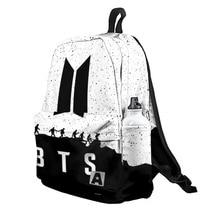 Рюкзак 3D с принтом «BTS» для мальчиков и девочек, для работы в школе, для путешествий с ноутбуком, водонепроницаемый рюкзак