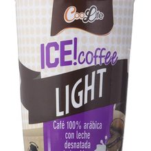 COOLIFE cafe LIGHT 100% Arabica with milk from the Alps. Cool drink in comfortable to wear format. PACK of 10 units with 230ml