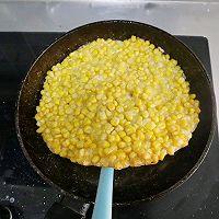 黄金玉米烙❗️饭店大菜在家轻松搞定❗️年夜宴客菜的做法图解6