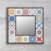 Ceramic framed Mirror