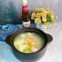 鲜美的冬瓜干贝虾仁汤的做法图解11