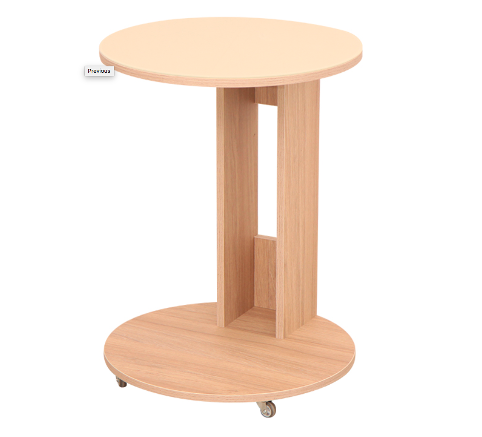 Table Modern прикатной Delicatex Color каньен Oak, прикатной, Coffee
