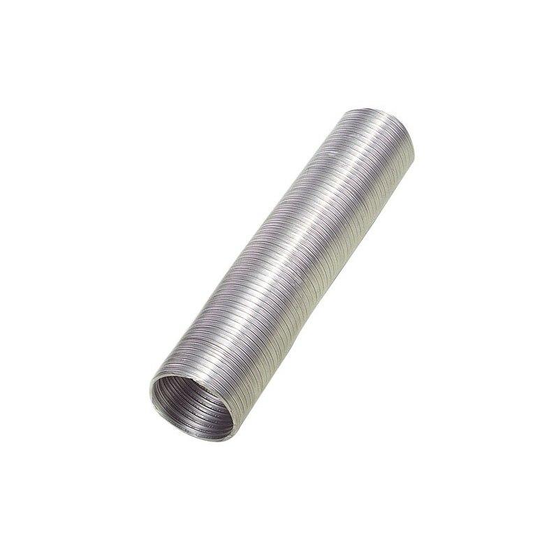 Aluminum Tube Compact Gray Ø 125mm./5 Meters