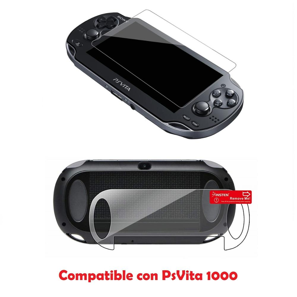 Plastic Protector For Sony PsVita 1000 Model Fat And PsVita Screen 2000 Slim Model (psv005) (psv024)