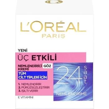 Loreal Paris 3 skuteczna pielęgnacja oczu krem 15ml 366590775 tanie i dobre opinie