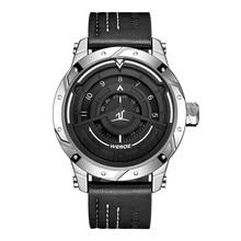 WEIDE Luxury Analog Display Men Sport Watch Leather Bracelet Strap Quartz Watches Waterproof No Pointer Dial  Wristwatch reloj стоимость